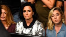 Demi Lovato Makes First Post-Breakup Appearance at UFC Event