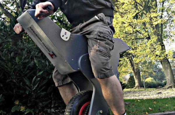 Homemade self-balancing unicycle uses an Arduino to keep upright
