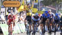 Tour de France - Tour de France: Van Aert remporte une 7e étape marquée par les bordures, Pogacar piégé