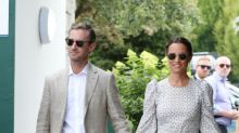 Pippa Middleton and James Matthews pictured with baby son for first time