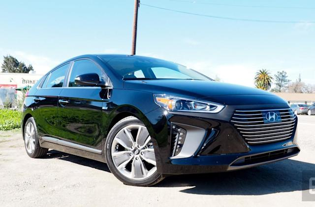 Hyundai chooses efficiency over range with its new Ioniq vehicles