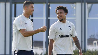 McKennie steps right into Juventus starting lineup