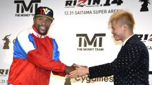 Report: Floyd Mayweather's New Year's Eve fight is back on