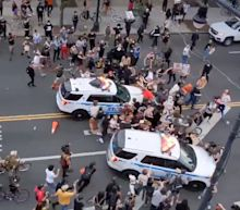 'They didn't start the situation': NYC mayor defends police after NYPD trucks drive into protesters
