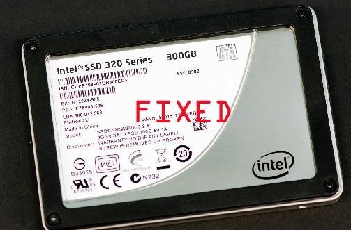 Intel to finally issue firmware fix for faulty 320 series SSDs (update: available now!)