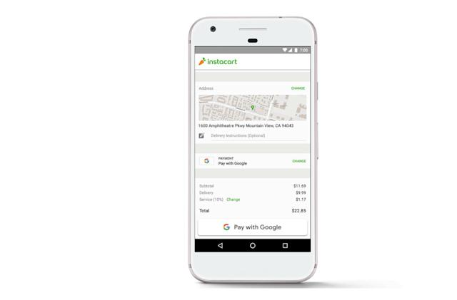 'Pay With Google' makes shopping on Android less of a hassle