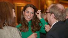 Invitadas: este vestido verde de Kate Middleton es ideal para una boda de invierno
