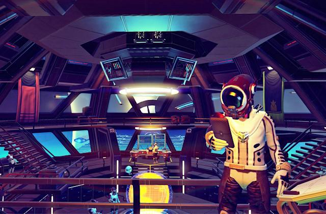 'No Man's Sky' files hint at upcoming ground vehicles