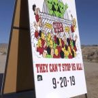 Alien enthusiasts head to Area 51 in Nevada