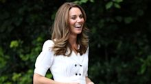 Kate Middleton wears £50 Zara dress as she chooses portraits for lockdown exhibition