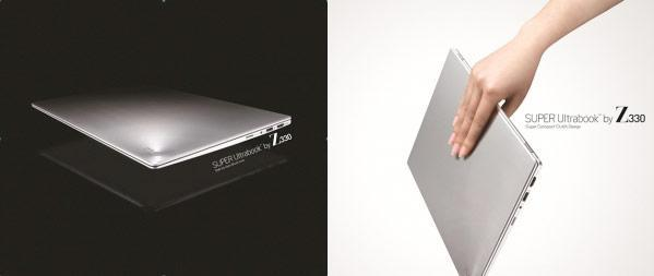 LG reveals Z330 / Z430 Ultrabooks, P535 / A540 laptops and 3D-enabled V300 all-in-one PC