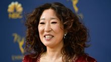 Sandra Oh's mother makes Emmys history by wearing traditional Korean hanbok to awards