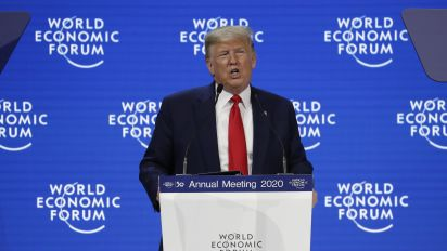 Trump tells Davos: 'The time for skepticism is over'
