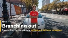 Square has acquired a 32-year-old restaurant delivery company