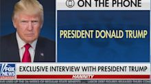 Coughing Trump suggests he may never even have had coronavirus in Fox News interview: 'They found very little, if any'