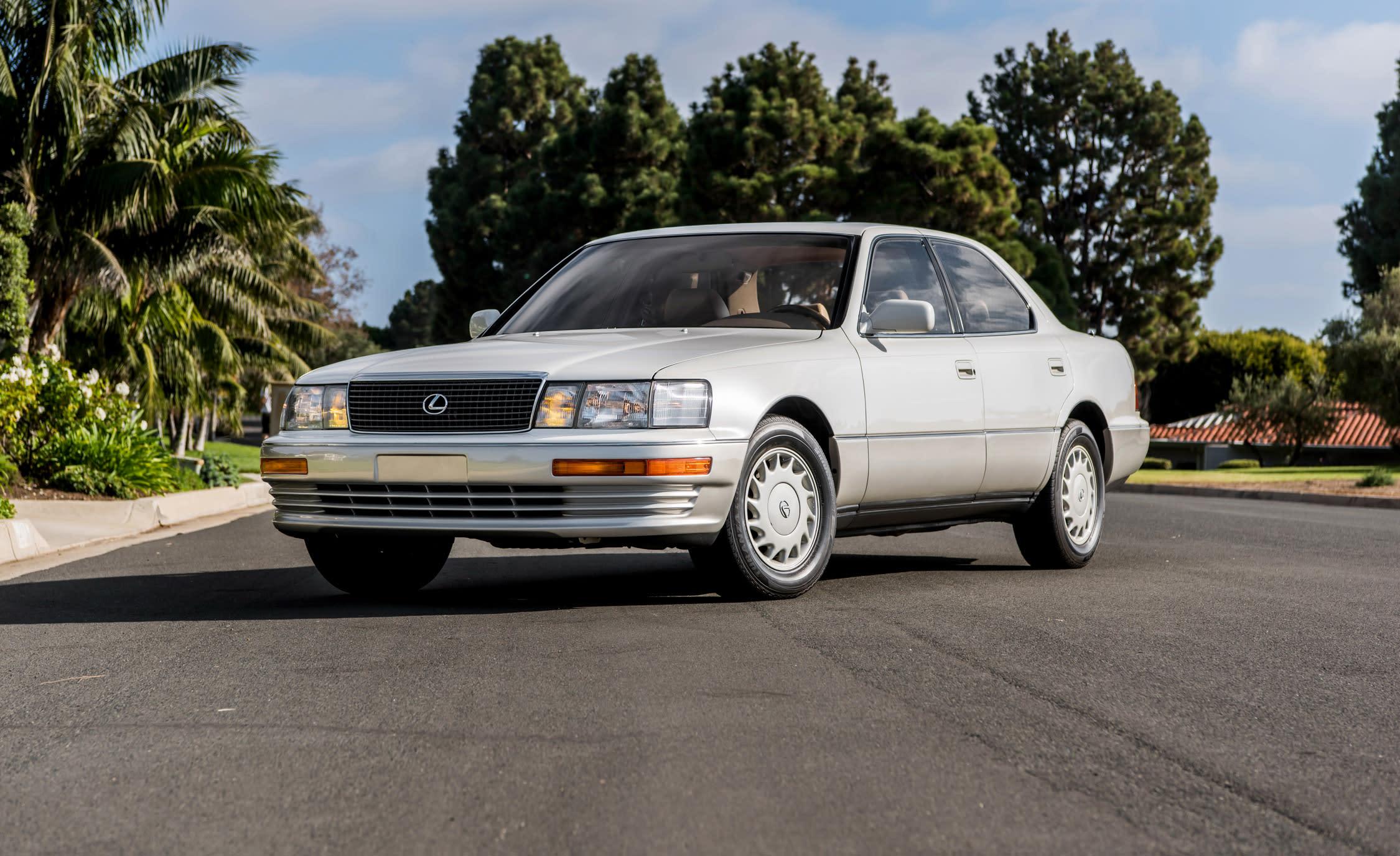 Luxury, Japan Style: Revisiting the Original Lexus LS400