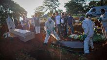 Coronavírus: Brasil lidera ranking de mortes em 24 horas, diz OMS