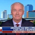 Arkansas Gov. Defends Easing COVID-19 Rules After Largest Single-Day Case Rise