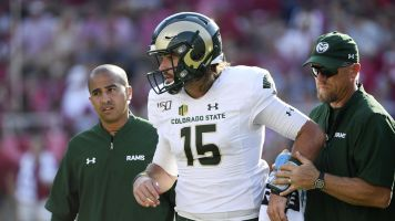 Colorado State QB tears ACL — for third time