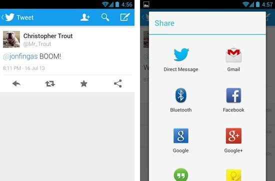 Twitter for Android update brings in-line replies, sharing through direct messages