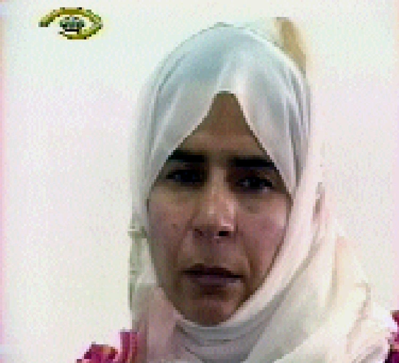 Image grab from Jordanian TV shows Iraqi Sajida Mubarak al-Rishawi, 35, who accompanied her husband on a suicide mission to the Radisson Hotel and failed to detonate her explosive belt, on November 13, 2005