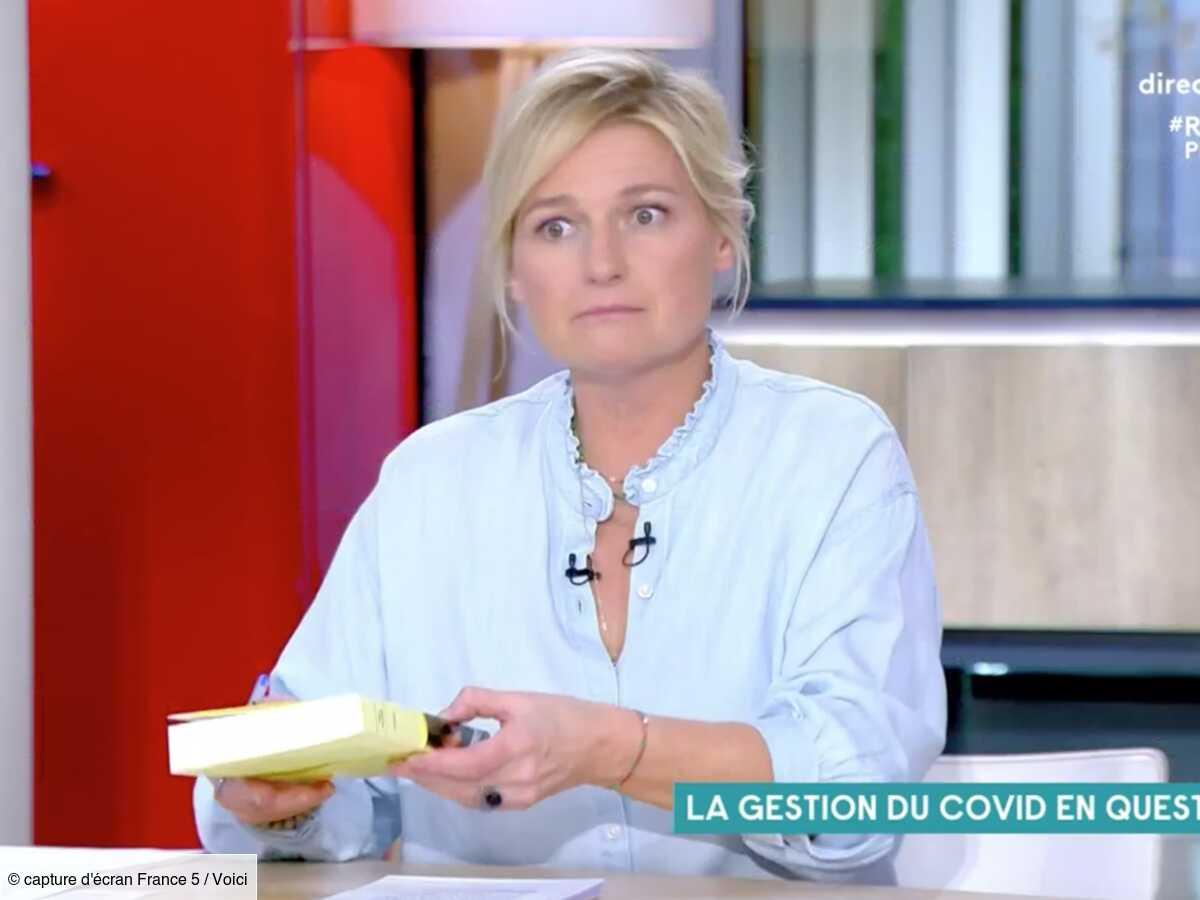 VIDEO Anne-Elisabeth Lemoine choquée par la réflexion d'Arnaud Montebourg sur le plateau de C à vous