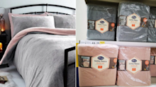Tesco's 'teddy fleece' duvet is now on sale for just £6