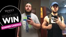 This 25-year-old lost 156 pounds in a year by walking and not eating meat