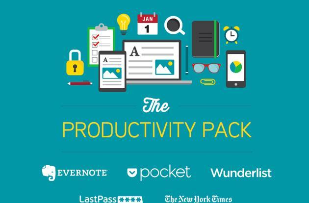 Promo gives you subscriptions to five big productivity services for $60