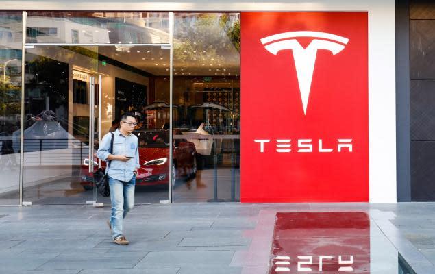 The Zacks Analyst Blog Highlights: Tesla, General Motors, Ford, Volkswagen and BMW AG