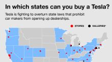 Why you can't buy a Tesla in these states