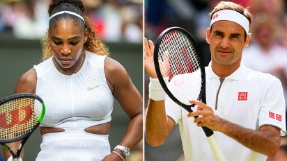 Wimbledon blow sparks fears for Federer and Serena
