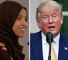 Trump stepped up his attacks on a group of progressive congresswomen of color, groundlessly calling them 'pro-terrorist' and 'anti-USA'