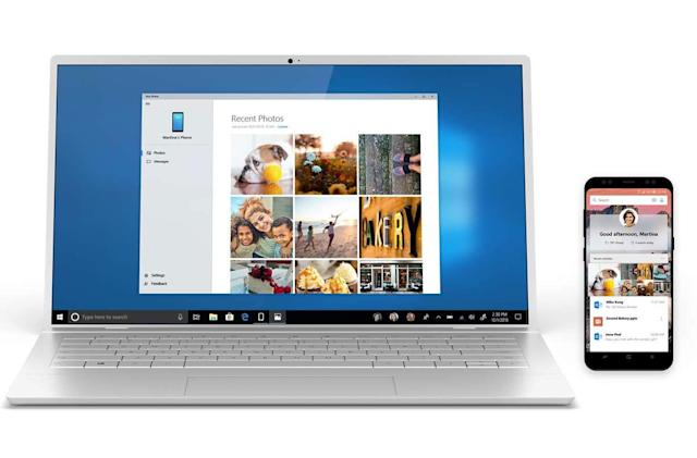 Microsoft's phone-to-Windows app is available for Android