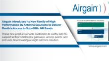 Airgain Introduces Family of High Performance 5G Antenna Solutions