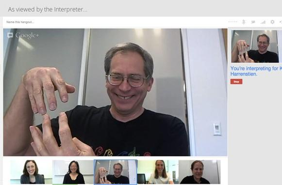 Google Hangouts receive sign language interpreter support, keyboard shortcuts