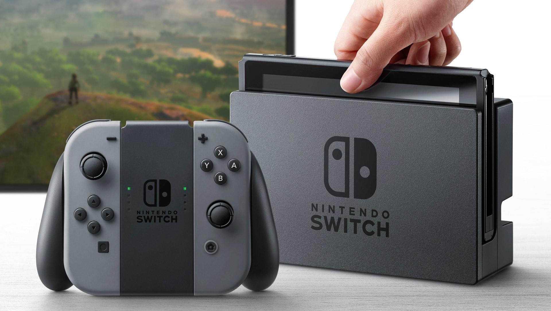 You can pre-order a Nintendo Switch starting Friday