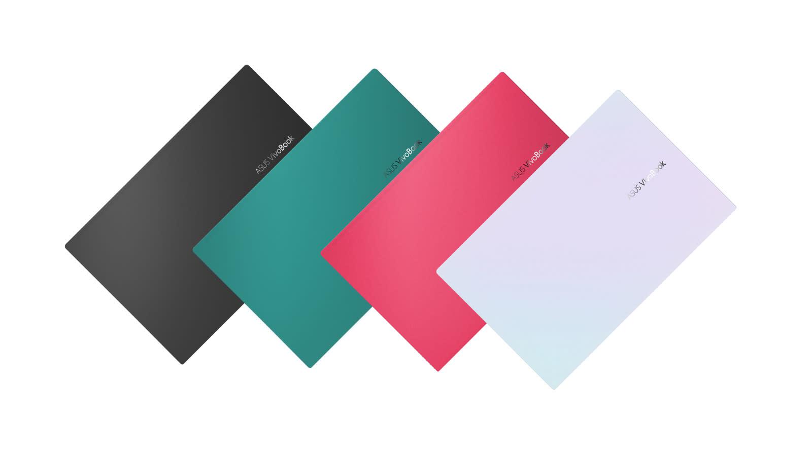 ASUS VivoBook S colors