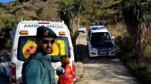 Drilling machines help frantic search of trapped Spanish boy
