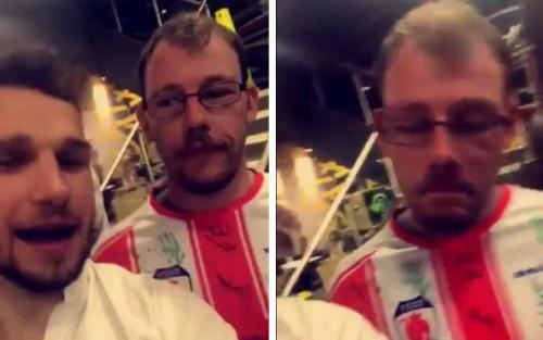 Bromsgrove Sporting FC fan Jay Randle