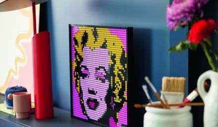 樂高推出主攻成人市場的「Art」系列點繪