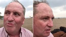 'We're going to get nailed': Barnaby Joyce films bizarre Christmas rant