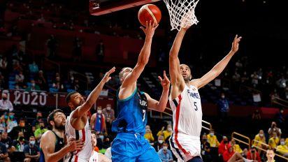 Batum block sets up France-USA for gold
