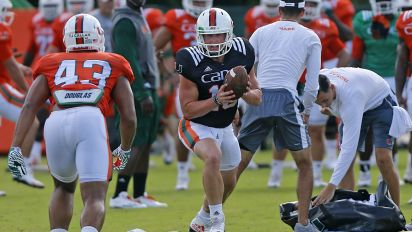 Hurricanes' starting QB job goes to Rosier