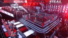 Epic 3-Way Steal on 'The Voice'