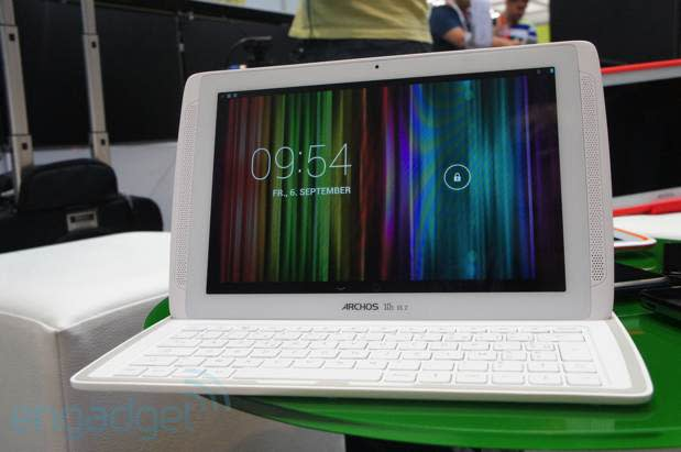 Archos 101 XS 2, ChefPad and ChildPad tablets hands-on (video)