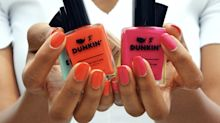 Dunkin' Just Launched Nail Polishes, So Now Your Manicure Can Match Your Coffee Order