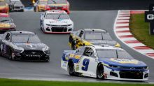 NASCAR at the Charlotte Roval results: Chase Elliott wins