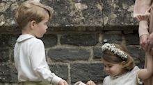 Princess Charlotte and Prince George Stole the Show at Yet Another Wedding This Weekend