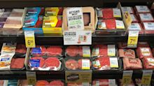 The plant-based meatless burger is coming to the meat aisles of its first mainstream US grocery chain